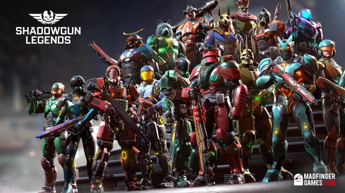 8. Shadowgun Legends